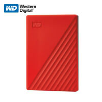 WD 1TB 2TB 4TB 5TB My Passport Portable External Hard Drive USB 3.2 Gen 1 RED
