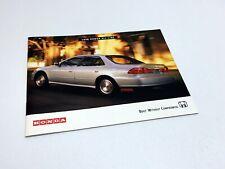 1998 Honda Accord Civic Prelude Odyssey CR-V Brochure