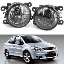 2X Front Bumper Fog Light Lamps w/ H11 Bulbs For Suzuki SX4 /Grand Vitara /Swift