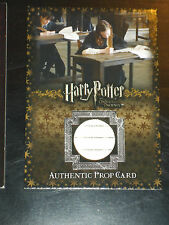 HARRY POTTER ORDER OF THE PHOENIX ULTRA RARE PROP CARD P4 O.W.L 031/235