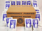 SOS Emergency Drinking Water 64 Packets of 4.227 FL OZ. 32 Day Survival Rations