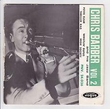 """CHRIS BARBER'S JAZZ BAND Vinyle 45 tours EP 7"""" PETITE FLEUR Bechet  VOGUE 24036"""