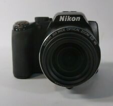 "Nikon COOLPIX P100 Digital Camera 10.3MP 3.0"" 26x OZ 4x DZ Black Fair Condition"
