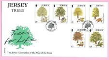 JERSEY Post 1997  FDC - TREES FOR LIFE ( Men of the Trees)-  Special Handstamp