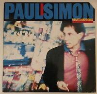 PAUL SIMON Hearts And Bones 1983 German issue VINYL LP EXCELLENT CONDITION A