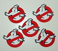 "Ghostbusters Small Screen Accurate Costume IRON ON Patches 2.25""  Set of FIVE(5)"