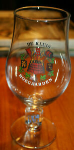 DE KLUIS HOEGAARDEN - Original Belgium Beer Glass 0,33 L