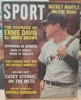 Mickey Mantle Sport Cover October 1963 No Label Go Yankees