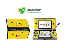 Pokémon Pikachu Vinyl Skin Sticker for Nintendo 3DS