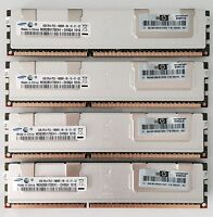 16GB (4X4GB) PC3-10600R DDR3-1333MHz REG ECC per Apple Mac Pro modelli 4.1 - 5.1