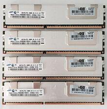 16GB (4X4GB) PC3-10600R DDR3-1333MHz REG ECC per Apple Mac Pro modelli 4.1 - 5.1