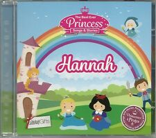 HANNAH - THE BEST EVER PRINCESS SONGS & STORIES PERSONALISED CHILDREN'S CD