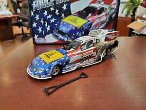 2012 John Force Summit Motorsports Park American Pride 1:24 NHRA Funny Car MIB