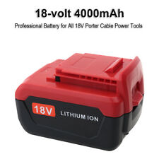 New 18V 4000mAh Lithium ion Battery for Porter Cable 18V PC18B PC18BL PC18BLX