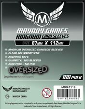 Mayday Munchkin Dungeon Magnum Board Game Sleeves 87mm x 122mm - 100ct MDG-7116