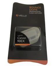 Vello Bounce Dome Diffuser for Canon Speedlite 90EX