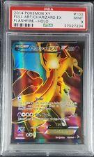 Pokemon PSA 9 Charizard EX! from Flashfire! Holo Full Art FA Mint!