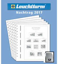 LEUCHTTURM Nachtrag BRD Bund 2017 mit Klemmtaschen