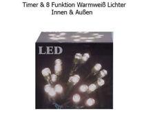 140 LED Lichterkette mit 8 Effekten innen außen Weihnachtsdekoration Party