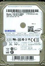 SAMSUNG 1TB, HN-M101MBB,  C7102-G14A, REV. A