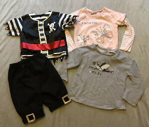 Girls -Kids Clothes Bundle Age 4-5/3-5 Years -Clothes Bundle -Jumpers/Costume