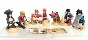 Bandai 2003 One Piece Dioramaworld Part 2 complete set of 7 gashapon figures