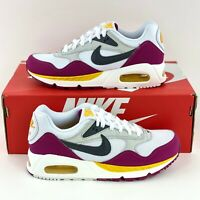 Nike Air Max Correlate Purple Yellow Women's Sneakers Shoes White 511417 100