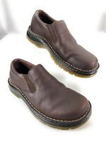 Dr. Martens Men's Bryce Pebbled Leather Slip On Loafers Brown Shoes 7M