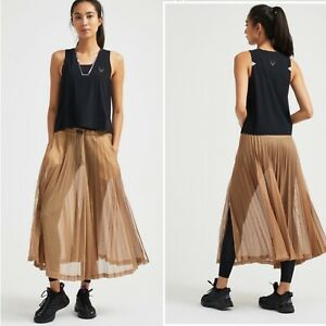 Lucas Hugh Pivot Mesh Skirt, Dune, Size XS-S, NEW, Current Season, Cost £135