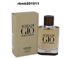 ACQUA  DI GIO ABSOLU By Giorgio Armani 4.2 oz EDP  Men Cologne