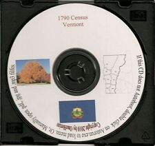 1790 Census CD - Vermont