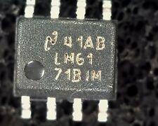 LM6171B1N Alta Velocidad Op-amp LM6171BIM SO8 de montaje en superficie