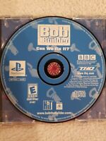 Bob the Builder: Can We Fix It (Sony PlayStation 1, 2001) PS1 NO MANUAL TESTED