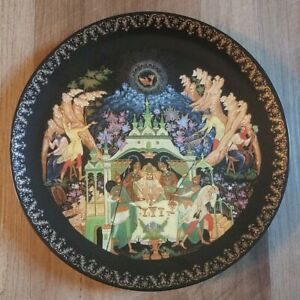 Tianex Bradex Russian Legends Fairy Tale Plate 1989