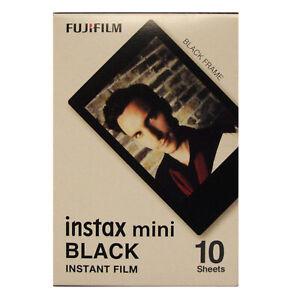 Fuji INSTAX mini / Polaroid 300 Black Frame Instant Film - Dated 07/2022
