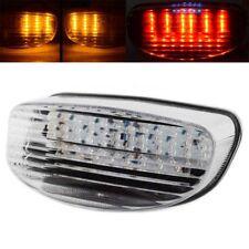 Clear LED Tail Light Turn Signal Fit Honda CBR1100XX 97 Suzuki GS500E 1999-2002