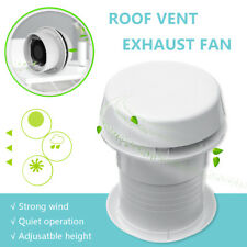 RV Motorhome Trailer Roof Vent Ventilation Cooling Exhaust Ceiling Fan 1800rmp