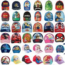 6e398769bc6 Boys Girls Kids Children Lego Super Mario PJ Masks Paw Patrol Baseball Cap  Hat