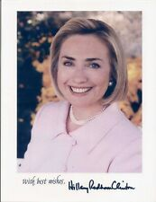 1999 HILLARY RODHAM CLINTON Official White House 8x10 Color Photo