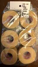 WAS $20.39 NWT! MUELLER TRAINERS ATHLETIC 10 YDS MTAPE BEIGE 6-PACK