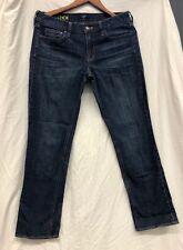 J.Crew Stretch Matchstick Jeans Dark Wash Women's Size 30