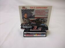 Vintage Dale Earnhardt #3 Five Time Winston Cup Champion Diecast Car w/Display