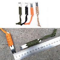 Mini manivelle levier de poche barre porte-clés multi outil de survie grattoir