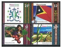 Timor East 2002 Independence Set of 4 New Nation's 1st Set of 4 Stamps Mint MUH