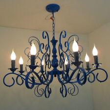 """32"""" Mediterranean Metal Living Room Chandeliers Bedroom Ceiling Lamp Lights"""