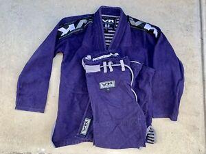 Vandal Kimonos 2.2 Viper Navy Blue Purple UFC Gym Limited Hawaii Gi A1 gi