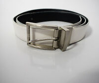 Calvin Klein Original  Reversible Men's Leather Belt White / Black