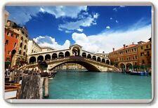 Venice Rialto bridge Fridge Magnet 04 Free Postage