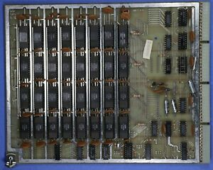 hio Scientific OSI Model 520 16K Memory Board Rev C, As-Is Untested