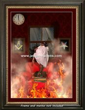 """Prince Hall Masonic and Order of Eastern Star 18X24"""" Artwork """"Stand On The Word"""""""